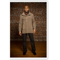 Men's Tailored Peacoat