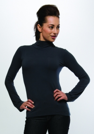 Key Hole Top - Pewter :  tie eco-friendly womens sameunderneath